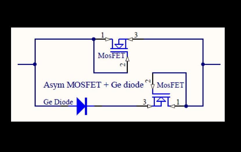 SC Asym Ge MosFET